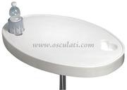 Accessori Nautica Tavolo ABS bianco 77 x 51 cm  [4841790]