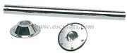 Accessori Nautica Gambo tavolo fisso 700 mm acciaio cromato  [4841801]
