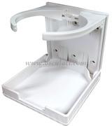 Accessori NauticiPortabicchieri pieghevole in plastica<br/><font color=#962308>Quantità Minima: 4 pezzi (2.96€ al p.zo) </font>