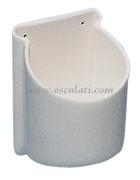 Accessori NauticiPortabicchieri/portalattine con fissaggio a parete<br/><font color=#962308>Quantità Minima: 3 pezzi (3.68€ al p.zo) </font>