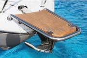 Accessori Nautica Delfiniera Inox/Teak AISI 316  [4847105]