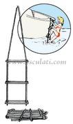 Scaletta corda/plastica 10 gradini  [4952410]Accessori Nautica