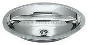 Accessori Nautica Lavello inox ovale 510 x 390 mm  [5018686]