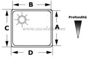 Accessori Nautica Lavello inox 260 x 325 x 150 mm  [5018723]