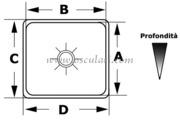 Accessori Nautica Lavello inox 175 x 325 x 150 mm  [5018724]