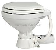 Accessori Nautica WC elettrico 12 V tavoletta legno  [5020512]