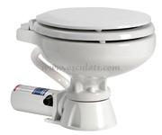 Accessori Nautica WC elettr. Super Compact tavoletta legno   [5020513]