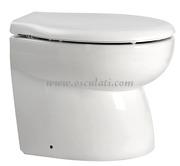 Accessori Nautica WC a depressione Elegant 12 V posteriore smussato  [5021603]
