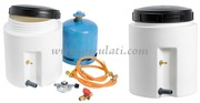 Contenitore stagno per bombole gas