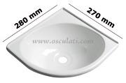 Accessori Nautica Lavello triangolare ABS  [5027047]