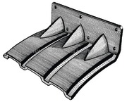 Accessori Nautica Flap plastica 280 x 200 mm  [5164000]