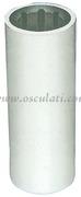 Boccola per linee d asse con armatura esterna in resina; versione esterno/interno in millimetri