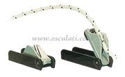Accessori NauticiStrozzascotte Clamcleats per cime mm 4/6