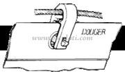 Accessori Nautica Grillo a scatto  [5804520]<br/><font color=#962308>Quantità Minima: 6 pezzi (1.8€ al p.zo) </font>