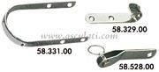 Accessori Nautica Gancetto acciaio inox  [5832900]<br/><font color=#962308>Quantità Minima: 4 pezzi (1.99€ al p.zo) </font>