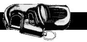 Accessori Nautica Testa tangone 30 mm  [6004300]