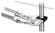 Accessori Nautica Porta tangone 25 mm  [6015710]