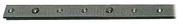 Accessori Nautica Rotaia lega leggera anodizzata 22x3 mm 2 m [6151093]