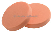 Tamponi in schiuma per lucidatrice arancio medio-rigido (confezione da 2 pz) [6523001]Accessori Nautici