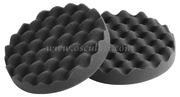 Tamponi in schiuma per lucidatrice nero bugnato morbido (confezione da 2 pz) [6523003]Accessori Nautici