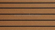 Piastre autoadesive - Teak listato nero - 412x203