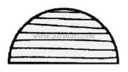 Accessori Nautica Profilo teak mezzotondo 10x20  [7103500]