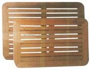 Accessori Nautica Piani tavolo in teak 45x70 cm  [7130728]