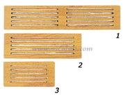 Accessori Nautica Frontalino protezione teak 445x100 mm  [7139630]