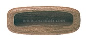 Accessori Nautica Maniglia teak ovalizzata 81 mm  [7160135]<br/><font color=#962308>Quantità Minima: 4 pezzi (2.43€ al p.zo) </font>