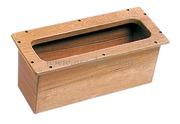 Box incasso teak 450x190x190 mm