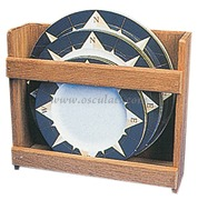 Porta piatti - Accetta 12 piatti, misure cm: 28,5x26hx9,5 profondita`