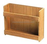 Porta barattoli ed oggetti vari - Misure mm: 316x101x254, montaggio a parete