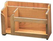 Porta piatti, tazze (impilabili) e posate - Misure mm: 395x152x282