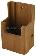 Porta radio VHF e porta telefonino - Misure interne mm: 132x73x43