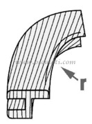 Accessori Nautica Angolare teak conc.x71.608.70  [7160872]