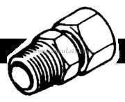 Raccordo per Pompe Ultaflex Diritto 3/8 (SF38)  [4529032]Accessori Nautica