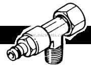 Raccordo per Pompe Ultaflex a T 3/8 (VFN38)  [4529033]Accessori Nautica