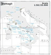Accessori Nautica Carta Navimap IT050-P3  [7005124]