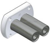 Kit paratia per doppio tubo idraulico, a tenuta stagna